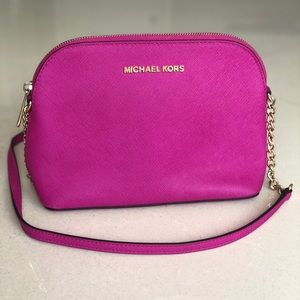 MICHAEL KORS Cindy medium dome crossbody bag